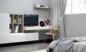 meuble tv chambre a coucher meuble tv bureau bureau et meuble tv flottant dans la chambre