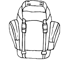 backpack coloring pages getcoloringpages com