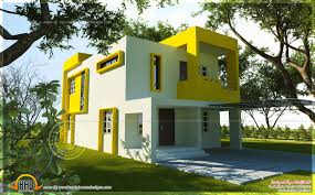 Contemporary Housing Small Contemporary House Square Feet Indian House Plans Square