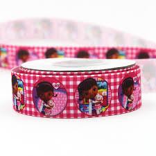 doc mcstuffins ribbon doc mcstuffins ribbon 10 yards promotion shop for promotional doc
