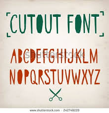 cut out letters stock images royalty free images u0026 vectors