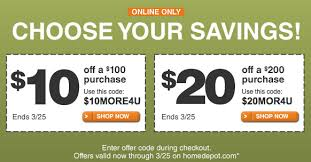 home depot april black friday appliance sale home depot online coupons saving the family money