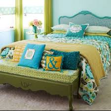 yellow and teal bedroom photos and video wylielauderhouse com