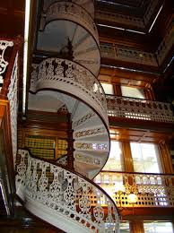 amazing homes with spiral staircases combined white baluster also