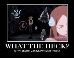 Scary Ghost Meme - liz is afraid of ghosts and blair by werewolfptstudios on deviantart