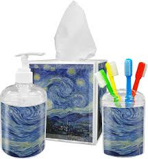 the starry night van gogh 1889 tissue box cover potty training