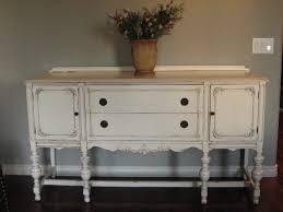 Antique White Buffet Table Energiadosamba Home Ideas Vintage