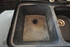black granite composite sink granite composite sinks care maintenance and products supreme