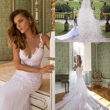 custom wedding dress 2016 wedding dresses mermaid julie vino custom made v neck lace