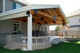 Craftsman Style Patio Deck And Patio Covers