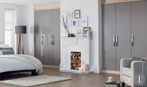 Schreiber Fitted Bedroom Furniture Accent Truffle Gloss Fitted Bedroom From The Schreiber Fitted