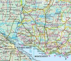 south america map buy south america maps detailed travel tourist driving