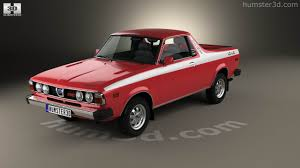 subaru brat 360 view of subaru brat 1978 3d model hum3d store