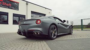 ferrari f12 wallpaper matte black ferrari f12 berlinetta hd wallpaper 20936