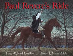 paul revere s ride book midnight ride of paul revere a singable picture book sing books