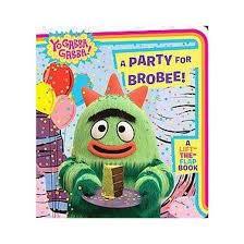 party brobee yo gabba gabba board farrah mcdoogle