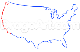How To Draw The World Map by Learn How To Draw The Usa Continent Stuff Pop Culture Free Step