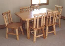 Log Dining Room Table Log Artistry Log Dining Room Tables
