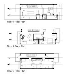 rowhouse liran bromberg row house floor plans revit photoshop