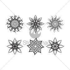 sun tribal gl stock images