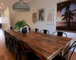 Dining Table Etsy - Timber kitchen table