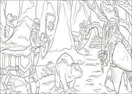 Coloriages Le Monde de Narnia  Coloriages  Coloriage à imprimer