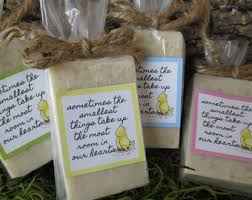 winnie the pooh baby shower favors winnie the pooh soap etsy