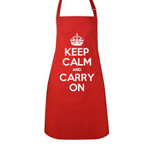 Apron Prints Keep Calm And Carry On Official Store Create U0026 Design Your Own