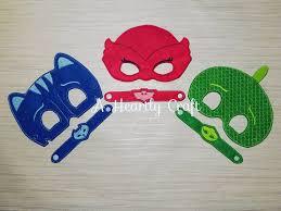 pj masks mask 3 superhero masks u0026 bracelets pj