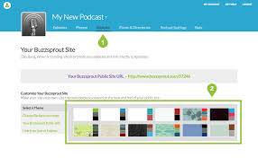 customize your own customize your buzzsprout website buzzsprout help