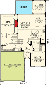 2 bedroom ranch house plans charming 2 bedroom ranch home plan 89860ah architectural designs
