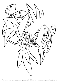 coloring pages pokemon sun and moon learn how to draw tapu koko from pokemon sun and moon pokémon sun