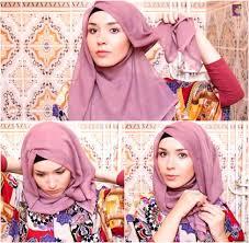 tutorial hijab segitiga paris simple 25 kreasi tutorial hijab paris simple terbaru 2018