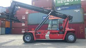 handover 01 unit kalmar empty reachstacker to our dear customer at
