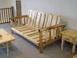 log artistry log futon
