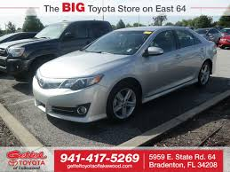 used 2012 toyota camry for sale bradenton fl 4t1bf1fk8cu127139
