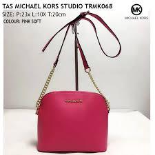 Tas Michael Kors michael kors mk 盪 tas michael kors miny sling bags trmk068 pink