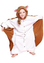 halloween pajamas for kids kids flying squirrel pajama costume walmart com