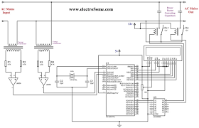 power correction factor wiring diagram components