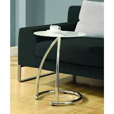 monarch specialties accent table monarch specialties black and chrome glass top end table i 3004