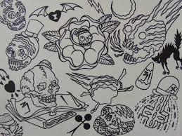 halloween 52 halloween tattoo flash image inspirations halloween