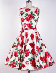 vintage 50 vestidos s vestidos pinterest bubble skirt red