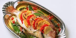 cuisiner une dorade daurade au four facile et pas cher recette sur cuisine actuelle