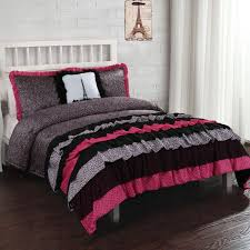 Purple U0026 Pink Teen Bedding by Best 25 Ruffled Comforter Ideas On Pinterest White Ruffle