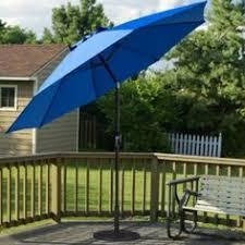 Patio Umbrellas That Tilt 7 5 Ft Sunbrella Half Wall Commercial Umbrella Only 279 00 Free