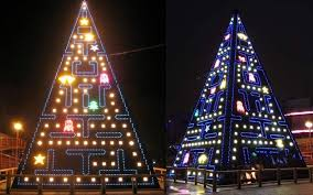 christmas tree light game from pac man to porcelain five of the most spectacular and unusual