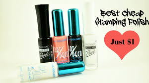 best cheap stamping polish just 1 youtube