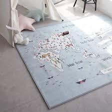 kids world map rug rugs ideas