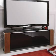 corner media cabinet 60 inch tv sirius 1200 black and walnut corner tv cabinet alternative image