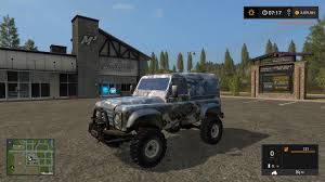 land rover defender 2017 land rover defender 90 v1 fs17 farming simulator 17 mod fs